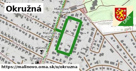 ilustrácia k Okružná, Malinovo - 578m