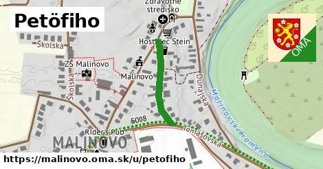 ilustrácia k Petöfiho, Malinovo - 208m