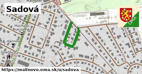 ilustrácia k Sadová, Malinovo - 275m
