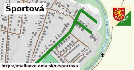 ilustrácia k Športová, Malinovo - 538m