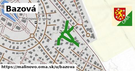 ilustrácia k Bazová, Malinovo - 367m