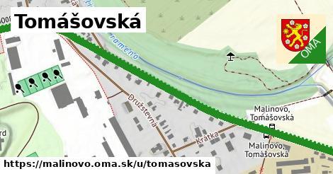 ilustrácia k Tomášovská, Malinovo - 0,93km