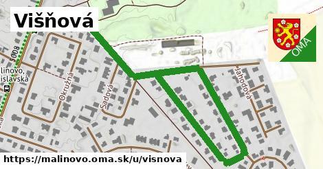 ilustrácia k Višňová, Malinovo - 1,00km