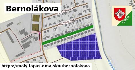 ilustrácia k Bernolákova, Malý Lapáš - 284m
