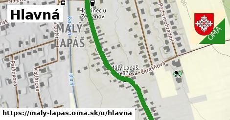 ilustrácia k Hlavná, Malý Lapáš - 551m
