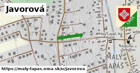 ilustrácia k Javorová, Malý Lapáš - 134m