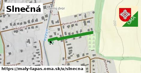 ilustrácia k Slnečná, Malý Lapáš - 217m