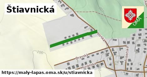 ilustrácia k Štiavnická, Malý Lapáš - 251m