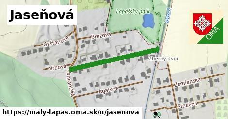 ilustrácia k Jaseňová ulica, Malý Lapáš - 284m