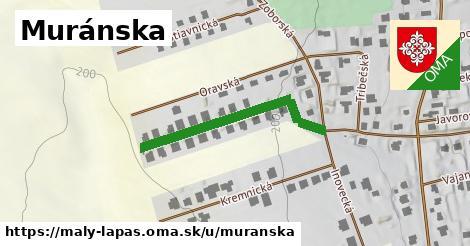 ilustrácia k Muránska ulica, Malý Lapáš - 335m