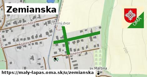 ilustrácia k Zemianska ulica, Malý Lapáš - 308m