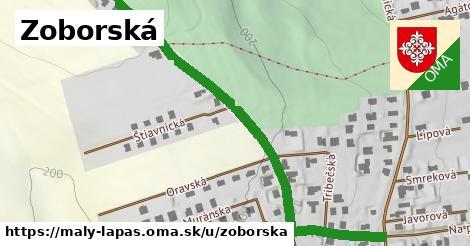 ilustrácia k Zoborská, Malý Lapáš - 699m
