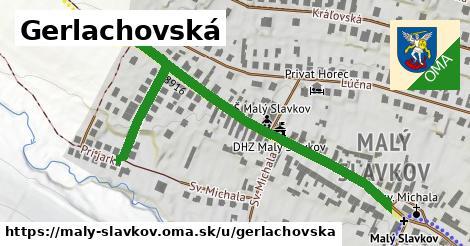 ilustrácia k Gerlachovská, Malý Slavkov - 560m
