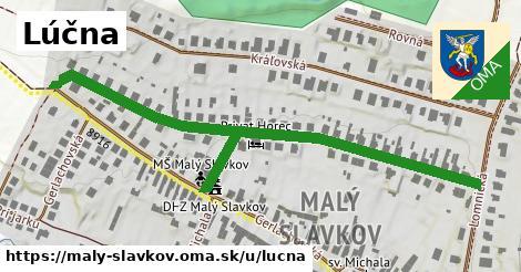 ilustrácia k Lúčna, Malý Slavkov - 0,74km