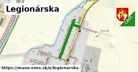 ilustrácia k Legionárska, Maňa - 553m