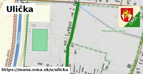 ilustrácia k Ulička, Maňa - 374m
