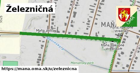 ilustrácia k Železničná, Maňa - 542m