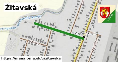 ilustrácia k Žitavská, Maňa - 334m
