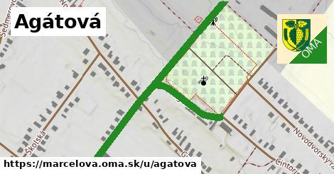 ilustrácia k Agátová, Marcelová - 172m