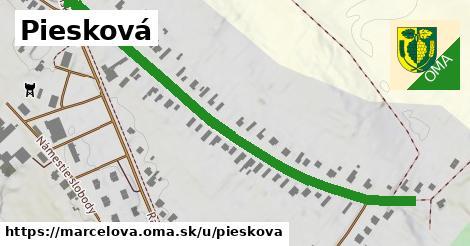 ilustrácia k Piesková, Marcelová - 659m