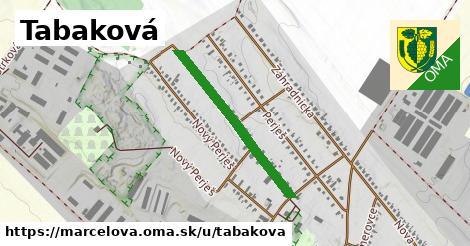 ilustrácia k Tabaková, Marcelová - 597m