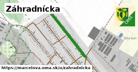 ilustrácia k Záhradnícka, Marcelová - 613m