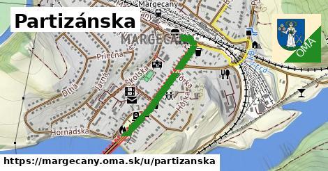 ilustrácia k Partizánska, Margecany - 598m