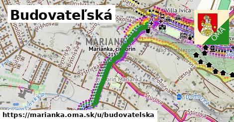 ilustrácia k Budovateľská, Marianka - 666m