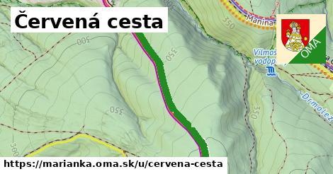 ilustrácia k Červená cesta, Marianka - 1,25km