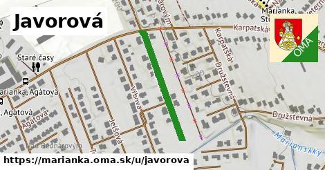 ilustrácia k Javorová, Marianka - 270m