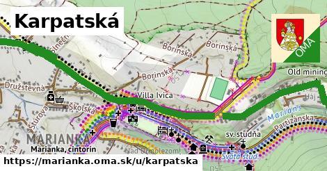 ilustrácia k Karpatská, Marianka - 2,8km