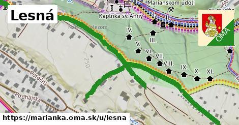 ilustračný obrázok k Lesna, Marianka
