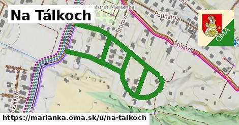 ilustrácia k Na Tálkoch, Marianka - 0,98km
