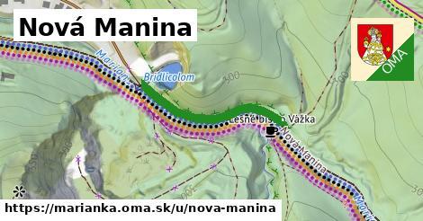 ilustrácia k Nová Manina, Marianka - 290m
