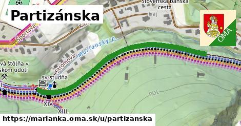 ilustrácia k Partizánska, Marianka - 0,80km