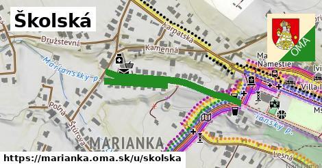 ilustrácia k Školská, Marianka - 483m