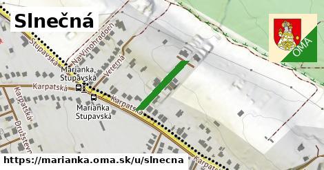 ilustrácia k Slnečná, Marianka - 154m
