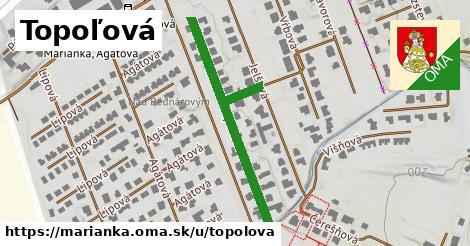 ilustrácia k Topoľová, Marianka - 407m