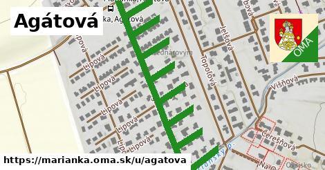 ilustrácia k Agátová, Marianka - 1,04km