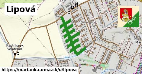 ilustrácia k Lipová, Marianka - 1,38km