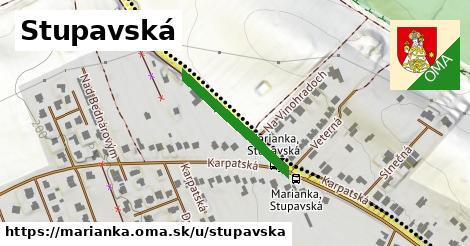 ilustrácia k Stupavská, Marianka - 229m