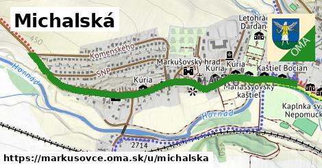 ilustračný obrázok k Michalská, Markušovce