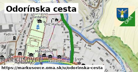 ilustrácia k Odorínska cesta, Markušovce - 283m