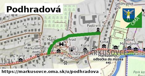 ilustračný obrázok k Podhradová, Markušovce