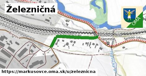 ilustračný obrázok k Železničná, Markušovce