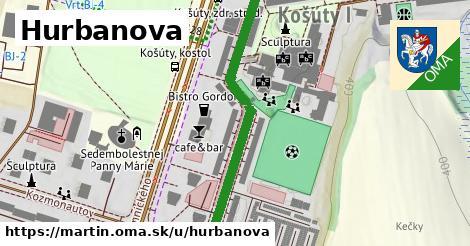 ilustrácia k Hurbanova, Martin - 582m