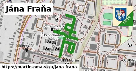 ilustrácia k Jána Fraňa, Martin - 0,73km