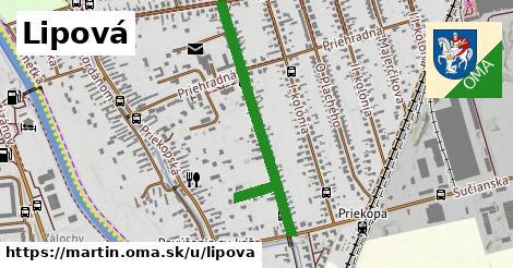 ilustrácia k Lipová, Martin - 0,71km