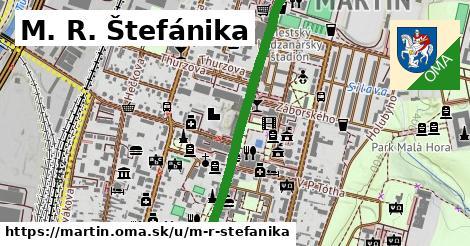 ilustrácia k M.R.Štefánika, Martin - 617m