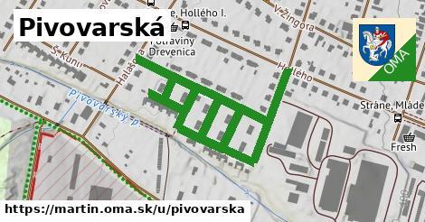 ilustrácia k Pivovarská, Martin - 0,93km
